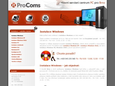 Instalace windows