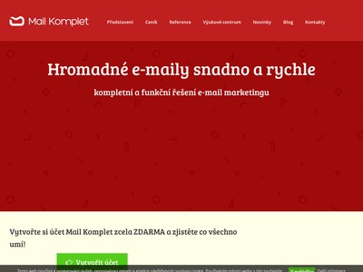 Mail Komplet – hromadné emaily
