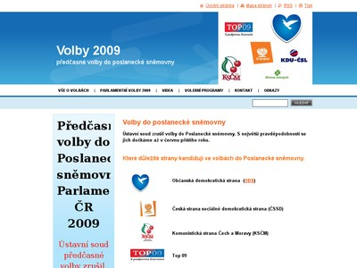Volby 2009